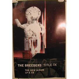 Breeders The - AFFICHE MUSIQUE / CONCERT / POSTER