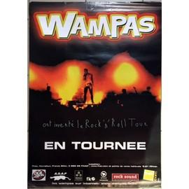 Les Wampas - AFFICHE MUSIQUE / CONCERT / POSTER