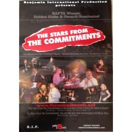 The Commitments - AFFICHE MUSIQUE / CONCERT / POSTER