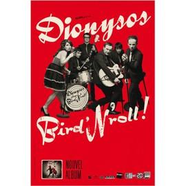 Dionysos - Play Bird'N'roll! - AFFICHE MUSIQUE / CONCERT / POSTER