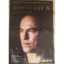 Dominique A - Eléor - concert - AFFICHE MUSIQUE / CONCERT / POSTER