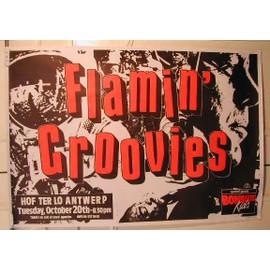 Flamin' Groovies - AFFICHE MUSIQUE / CONCERT / POSTER