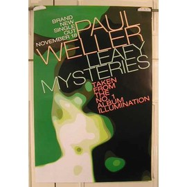 Weller Paul - Leafy Mysteries - AFFICHE MUSIQUE / CONCERT / POSTER