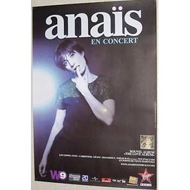 Anaïs - AFFICHE MUSIQUE / CONCERT / POSTER
