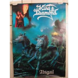 King Diamond - Abigail - AFFICHE MUSIQUE / CONCERT / POSTER