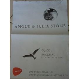 Angus & Julia Stone - AFFICHE MUSIQUE / CONCERT / POSTER