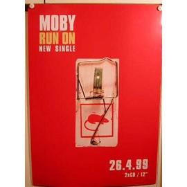 Moby - AFFICHE MUSIQUE / CONCERT / POSTER