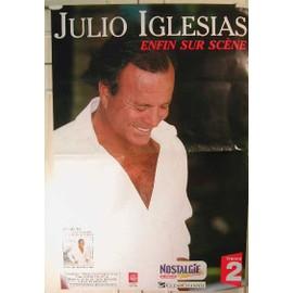 Iglesias Julio - 2004 - AFFICHE MUSIQUE / CONCERT / POSTER