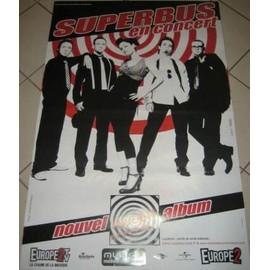 SUPERBUS - En Concert 2006 - AFFICHE MUSIQUE / CONCERT / POSTER