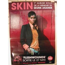 Skin - 2004 - AFFICHE MUSIQUE / CONCERT / POSTER