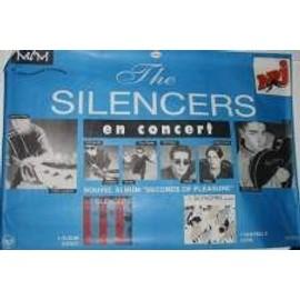 Silencers - AFFICHE MUSIQUE / CONCERT / POSTER