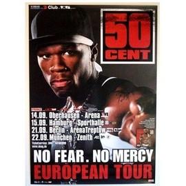 50 Cent - AFFICHE MUSIQUE / CONCERT / POSTER