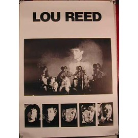 Lou REED - AFFICHE MUSIQUE / CONCERT / POSTER