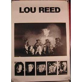 Lou REED - AFFICHE MUSIQUE / CONCERT / POSTER