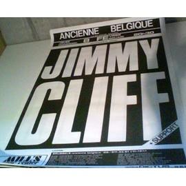Jimmy CLIFF - AFFICHE MUSIQUE / CONCERT / POSTER