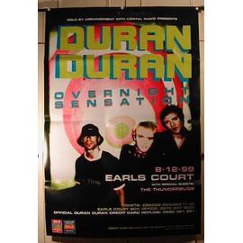 Duran Duran - Overnight Sensation - AFFICHE MUSIQUE / CONCERT / POSTER