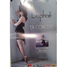 Daphné - AFFICHE MUSIQUE / CONCERT / POSTER
