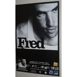 FRED - 2008 - AFFICHE MUSIQUE / CONCERT / POSTER