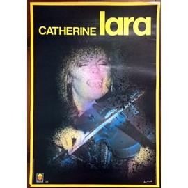 Catherine LARA - AFFICHE MUSIQUE / CONCERT / POSTER