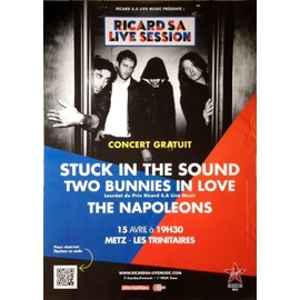 Stuck In The Sound - Two Bunnies In Love - AFFICHE MUSIQUE / CONCERT / POSTER