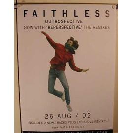 Faithless - AFFICHE MUSIQUE / CONCERT / POSTER