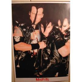 Misfits - AFFICHE MUSIQUE / CONCERT / POSTER