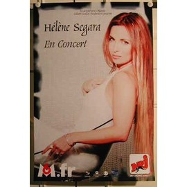 Segara Hélène - 2004 - AFFICHE MUSIQUE / CONCERT / POSTER