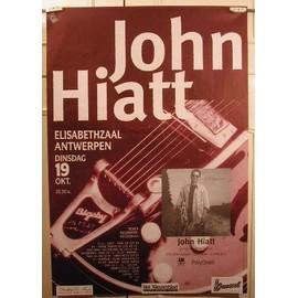 Hiatt John - AFFICHE MUSIQUE / CONCERT / POSTER