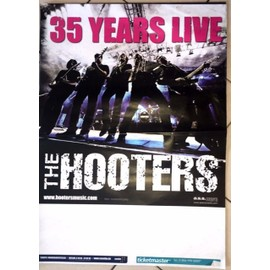 The Hooters - 35 years Live - AFFICHE MUSIQUE / CONCERT / POSTER