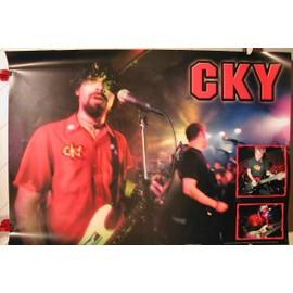 CKY - AFFICHE MUSIQUE / CONCERT / POSTER