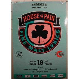 House of Pain - AFFICHE MUSIQUE / CONCERT / POSTER