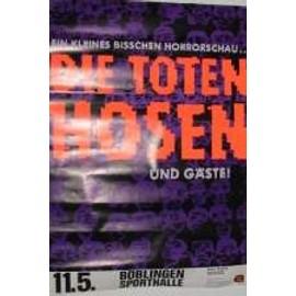 Die Toten Hosen - AFFICHE MUSIQUE / CONCERT / POSTER