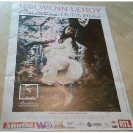 Nolwen Leroy - AFFICHE MUSIQUE / CONCERT / POSTER
