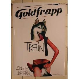 Goldfrapp - Train - AFFICHE MUSIQUE / CONCERT / POSTER