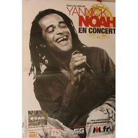 NOAH Yannick - 2004 - AFFICHE MUSIQUE / CONCERT / POSTER