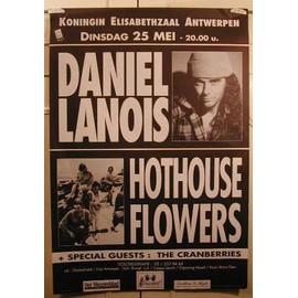 Lanois Daniel - AFFICHE MUSIQUE / CONCERT / POSTER