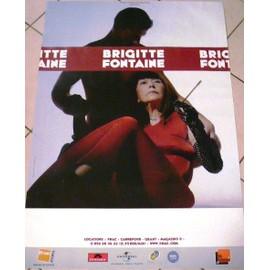 Brigitte FONTAINE - AFFICHE MUSIQUE / CONCERT / POSTER