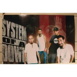 System Of A Down - AFFICHE MUSIQUE / CONCERT / POSTER
