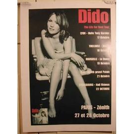 Dido - AFFICHE MUSIQUE / CONCERT / POSTER