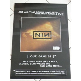 Nine Inch Nails - AFFICHE MUSIQUE / CONCERT / POSTER
