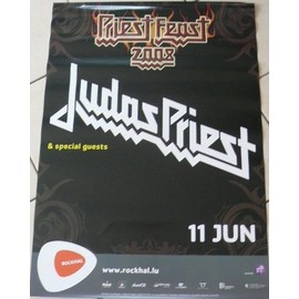 Judas Priest - 2008 - AFFICHE MUSIQUE / CONCERT / POSTER