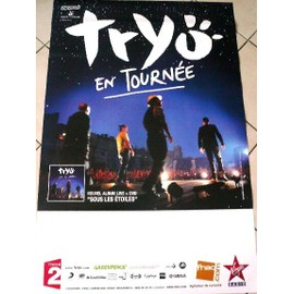 TRYO - AFFICHE MUSIQUE / CONCERT / POSTER