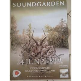 Soundgarden - King Animal - AFFICHE MUSIQUE / CONCERT / POSTER