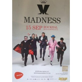 Madness - AFFICHE MUSIQUE / CONCERT / POSTER
