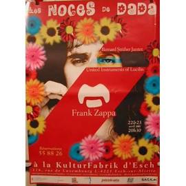 Les noces de Dada - AFFICHE MUSIQUE / CONCERT / POSTER
