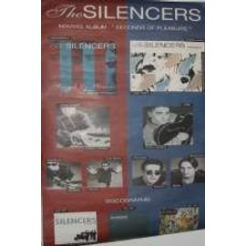 The Silencers - AFFICHE MUSIQUE / CONCERT / POSTER