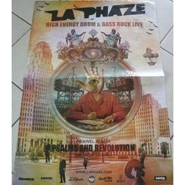 La Phaze - AFFICHE MUSIQUE / CONCERT / POSTER