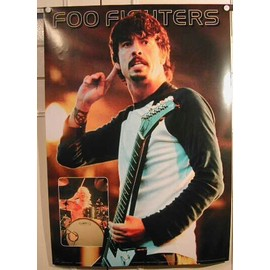 Foo Fighters - AFFICHE MUSIQUE / CONCERT / POSTER