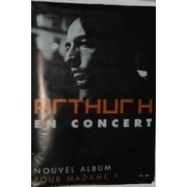 Arthur H - AFFICHE MUSIQUE / CONCERT / POSTER