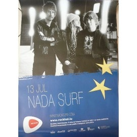 NADA SURF - AFFICHE MUSIQUE / CONCERT / POSTER